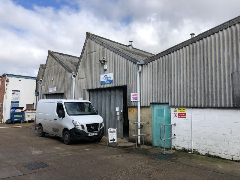Industrial Unit - Unit 16H, Chalwyn Industrial Estate, Parkstone, Poole