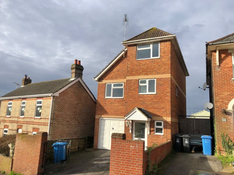 THREE double bedroom detached house located in Parkstone